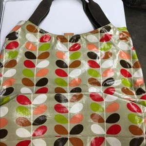 Final sale Orla Kiely signature leaf cute bag